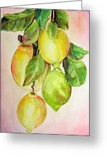 Citrons Greeting Card