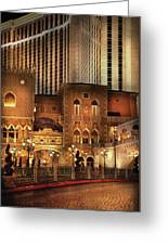 City - A Touch Of Sicily Greeting Card