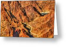 City - Arizona - Grand Canyon - A Look Into The Abyss Greeting Card