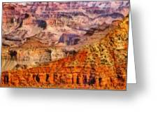 City - Arizona - Grand Canyon - Kabob Trail Greeting Card