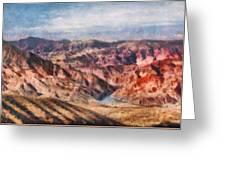 City - Arizona - Grand Hills Greeting Card