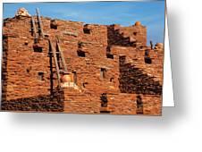 City - Arizona - Pueblo Greeting Card
