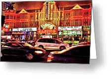 City - Vegas - O'sheas Casino Greeting Card