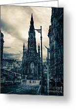 Edinburgh City Greeting Card