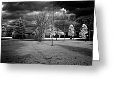 City Beach In Infrared Greeting Card