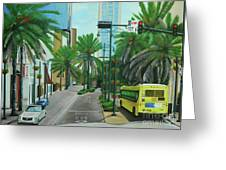 City Beautiful - Downtown Orlando Fl Greeting Card