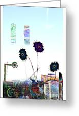 City Blooms Greeting Card