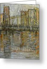 City Bridge Greeting Card