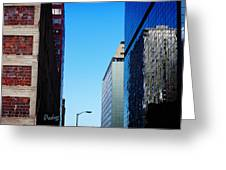 City Buildings Greeting Card