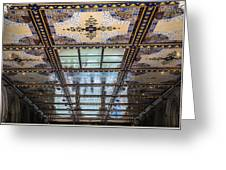City Ceilings Greeting Card