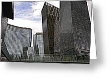 City Center At Las Vegas Greeting Card