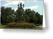 City Circle Greeting Card