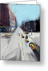 City Contrast Greeting Card