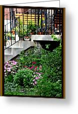 City Garden Greeting Card