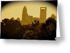 City Glow  Greeting Card