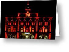 City Hall In Uppsala Greeting Card
