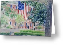 City Hall Old Town Alexandria Virginia Greeting Card