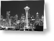 City Lights 1 Greeting Card