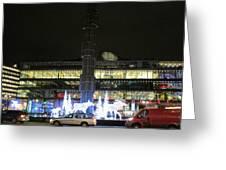 City Lights 2 Greeting Card