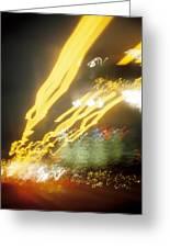 City Lights-5 Greeting Card