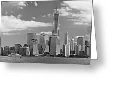 City - Ny - The Shades Of A City Greeting Card