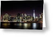 City Of Blinding Light Greeting Card