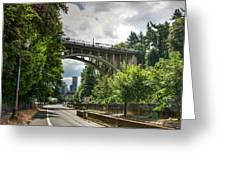 City Of Bridges Greeting Card