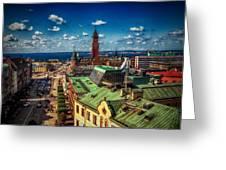 City Of Helsingborg Greeting Card