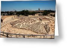City Of King David Greeting Card