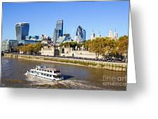 City Of London 12 Greeting Card