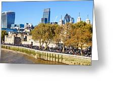 City Of London 14 Greeting Card