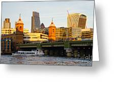 City Of London 5 Greeting Card