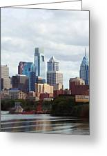 City Of Philadelphia Greeting Card