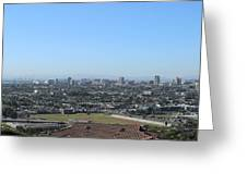 City Of San Pedro Greeting Card