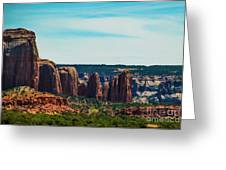 City Of Stones  Greeting Card