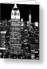 City Of The Night Greeting Card