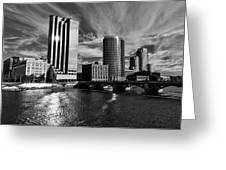 City On The Grand Greeting Card