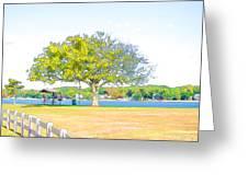 City Park 6 Greeting Card