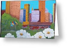 City Greeting Card