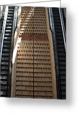 City Place Stairs Greeting Card