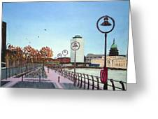 City Quay Campshires Greeting Card