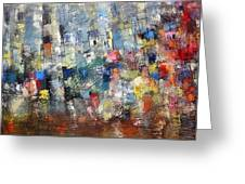 City Scape 3 Greeting Card