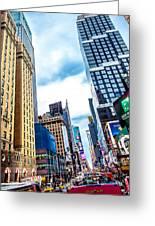 City Sights Nyc Greeting Card