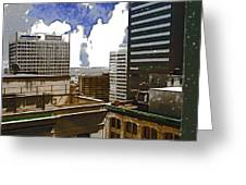 City Skies Greeting Card
