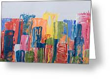 City Skyline 1 Greeting Card