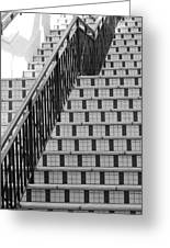 City Stairs II Greeting Card
