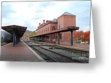 City Station Greeting Card