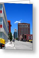 City Street Greeting Card