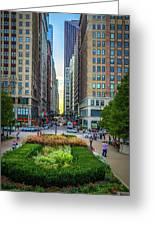 City Surreal Greeting Card