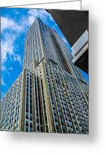 City Tower Greeting Card